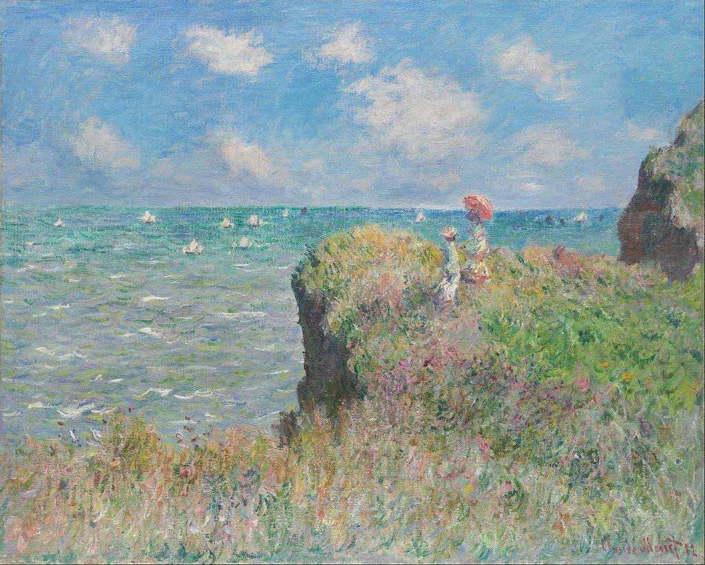 Cliff Walk at Pourville - Art 4 Charities, LLC