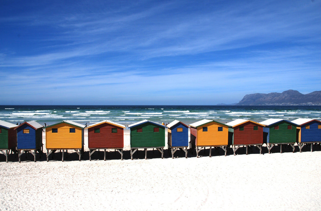 Colorful Beach Houses - Art 4 Charities, LLC