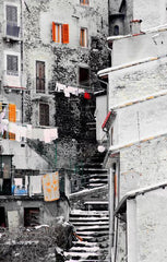 Colorful Climbing Clotheslines, Italy