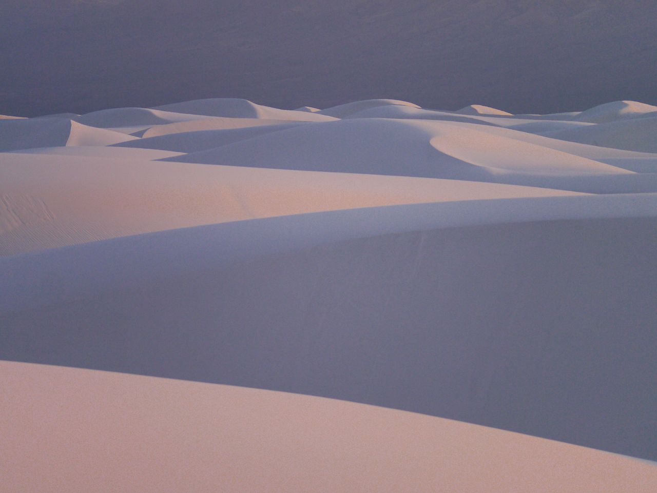Desert Dunes, New Mexico