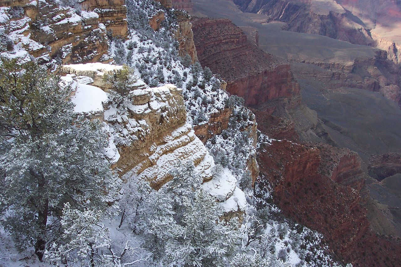 Grand Canyon Snow, Arizona