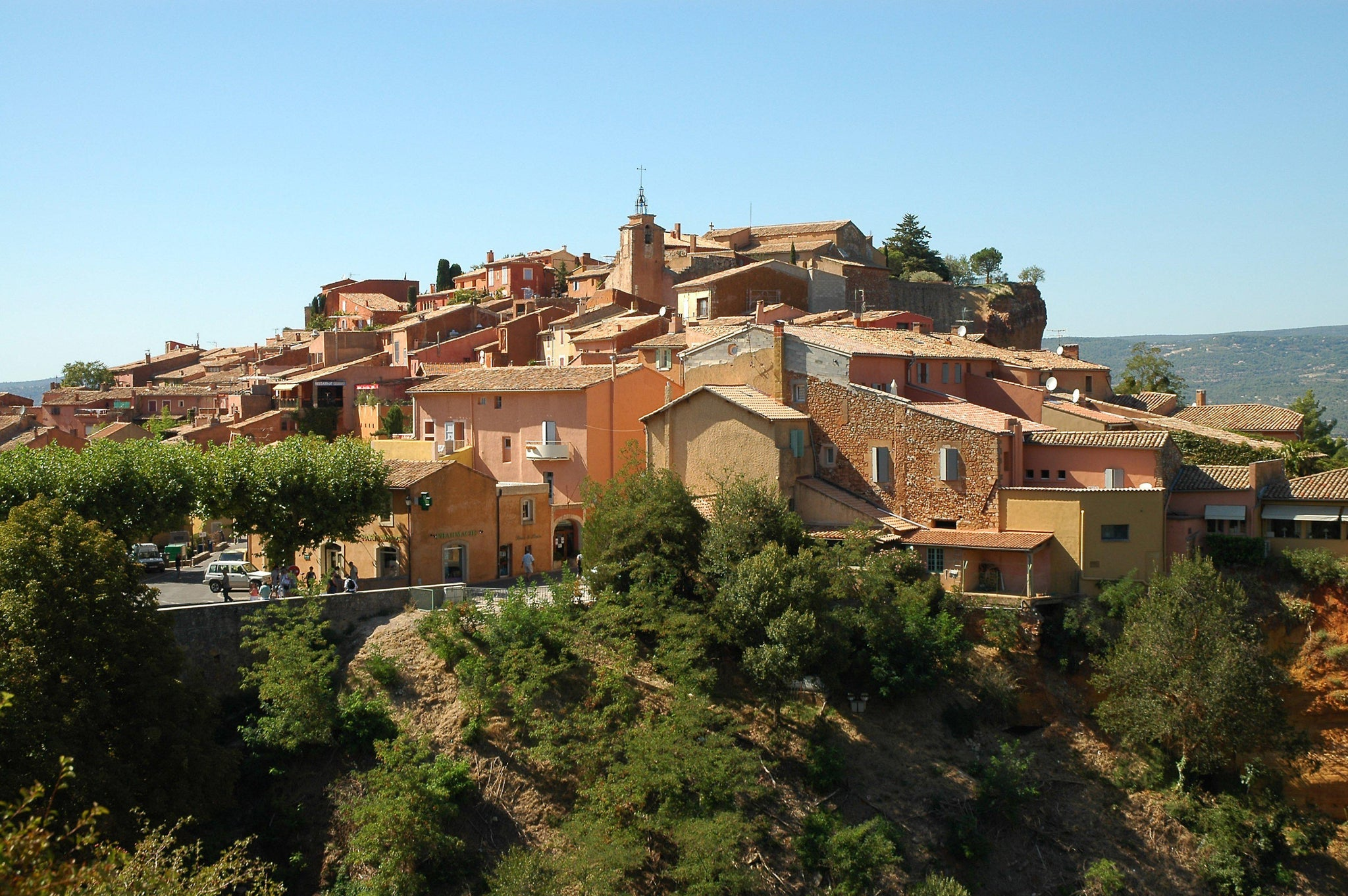 Houses on the Hillside