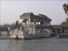 Marble Boat, Summer Palace, Beijing, China