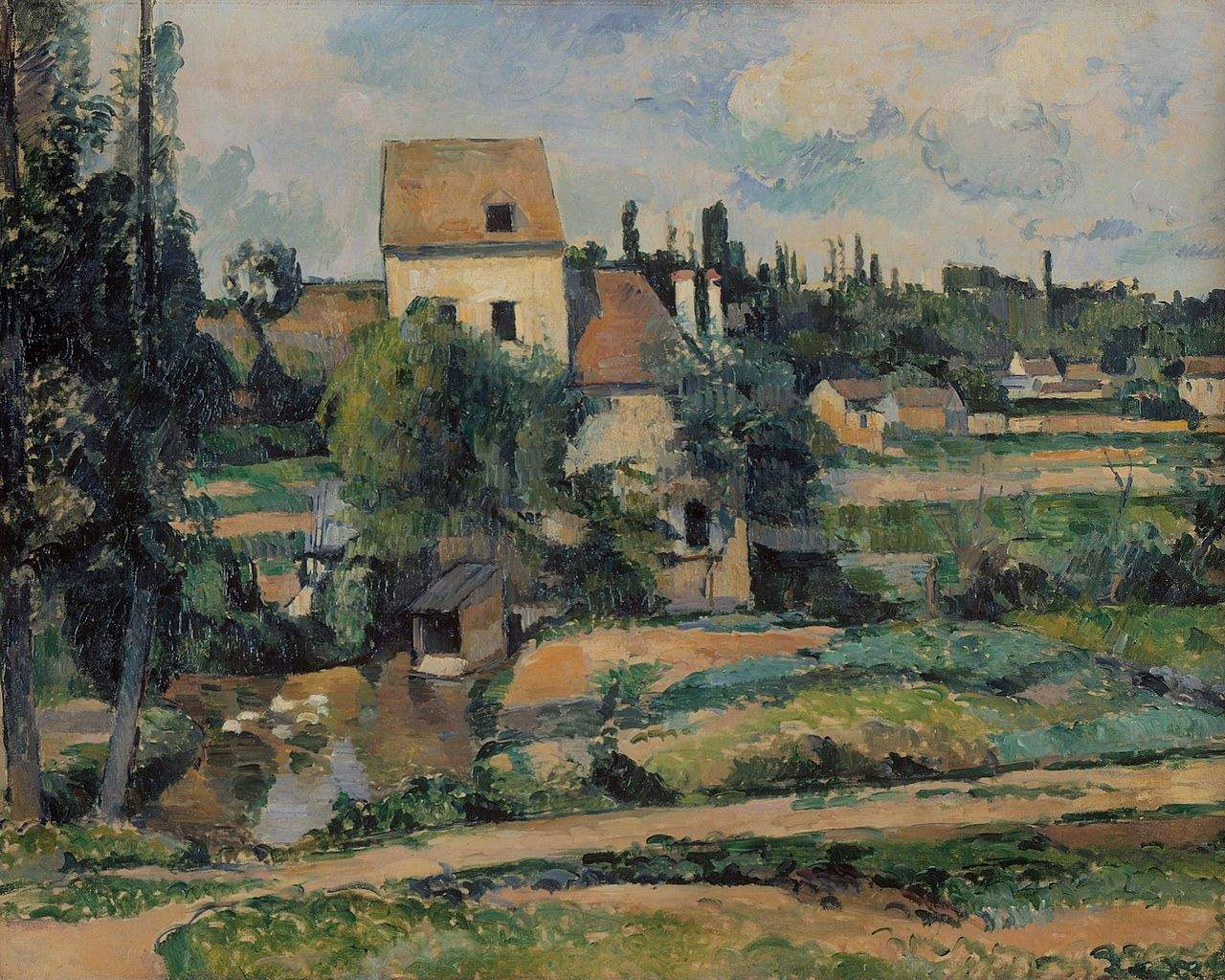 Mill on the Couleuvre at Pontoise