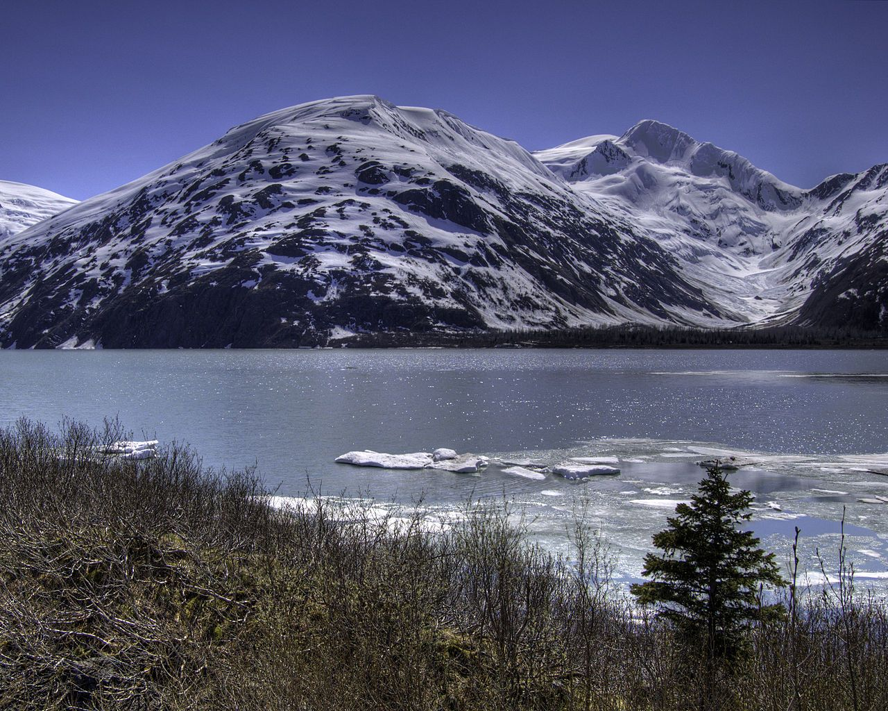 Mountains Near Whittier, Alaska