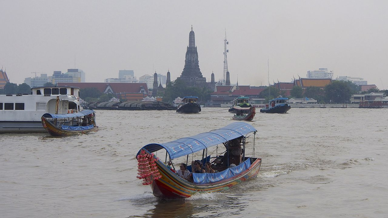 On The Chao Phraya River, Bangkok