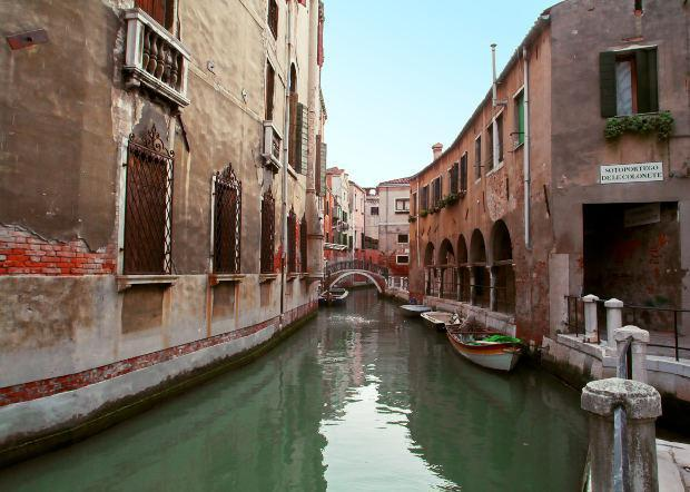 Quiet Canal, Venice, Italy