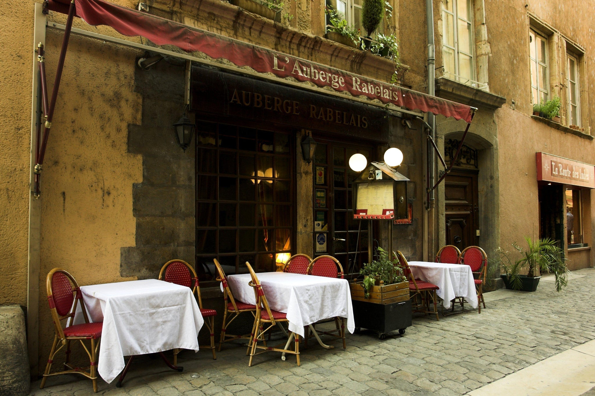 Sidewalk Cafe, France