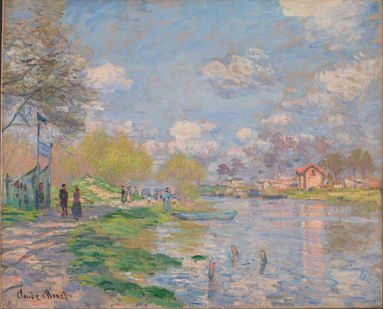 Spring by the Seine