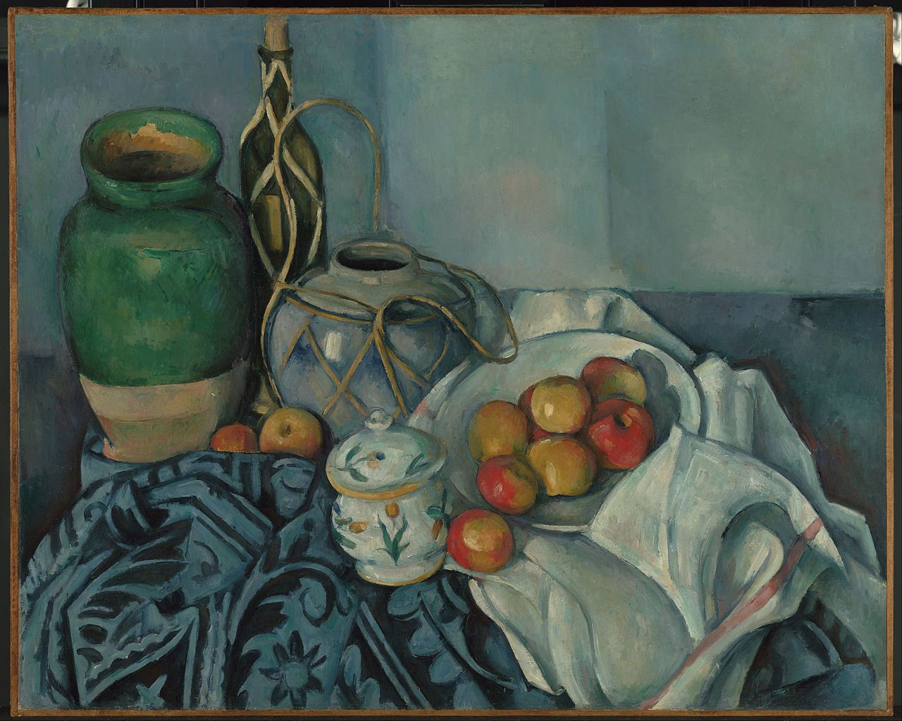 Still Life with Apples I