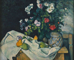 Still Life with Flowers and Fruit I