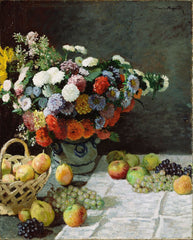 Still Life with Flowers and Fruit II