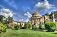 Sunny Day at Lodhi Garden, New Delhi, India