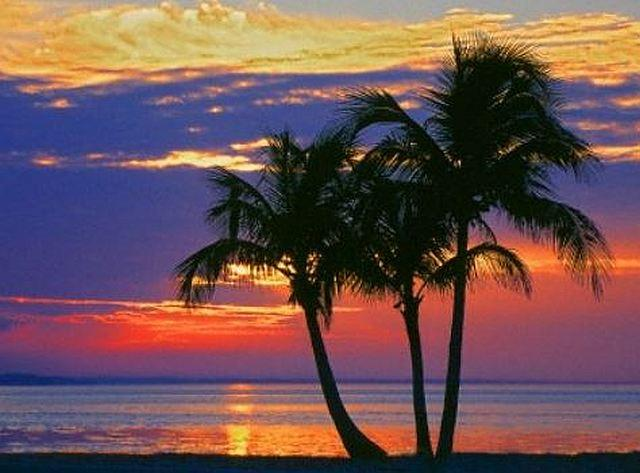 Sunset over Sombrero Beach, Florida Keys - Art 4 Charities, LLC