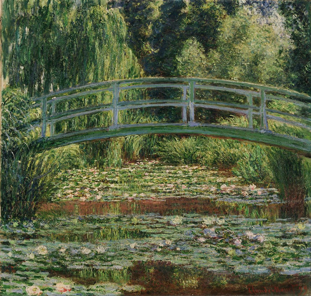 The Japanese Footbridge and the Water Lily Pool, Giverny