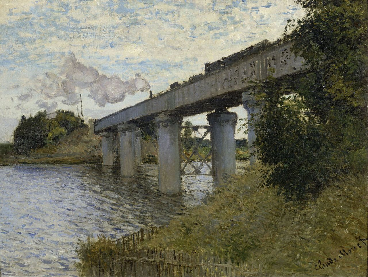 The Railroad Bridge in Argenteuil