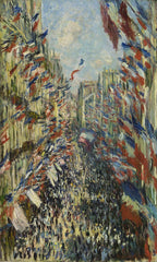 The Rue Montorgueil in Paris Celebration