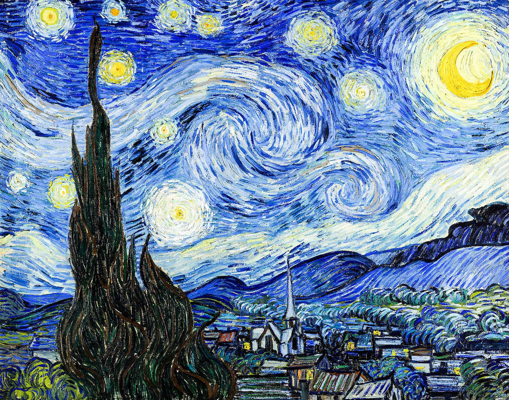 The Starry Night by van Gogh - Art 4 Charities, LLC