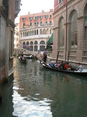 View From A Gondola, Venice, Italy