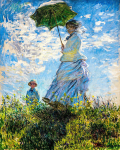 Woman with a Parasol by Monet - Art 4 Charities, LLC