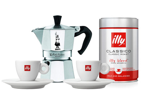 ILLY LOVERS SET - MOKA POT