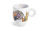 emilio pucci 2016 illy art collection serisi italya mug fincanı