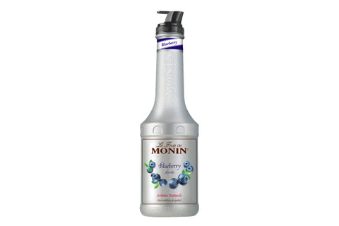 monin le fruit blueberry monin yabanmersini püresi