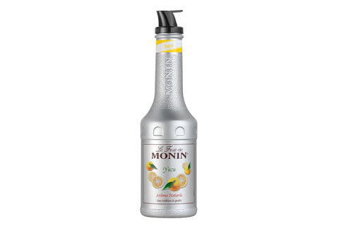 monin le fruit yuzu japon limonu püresi