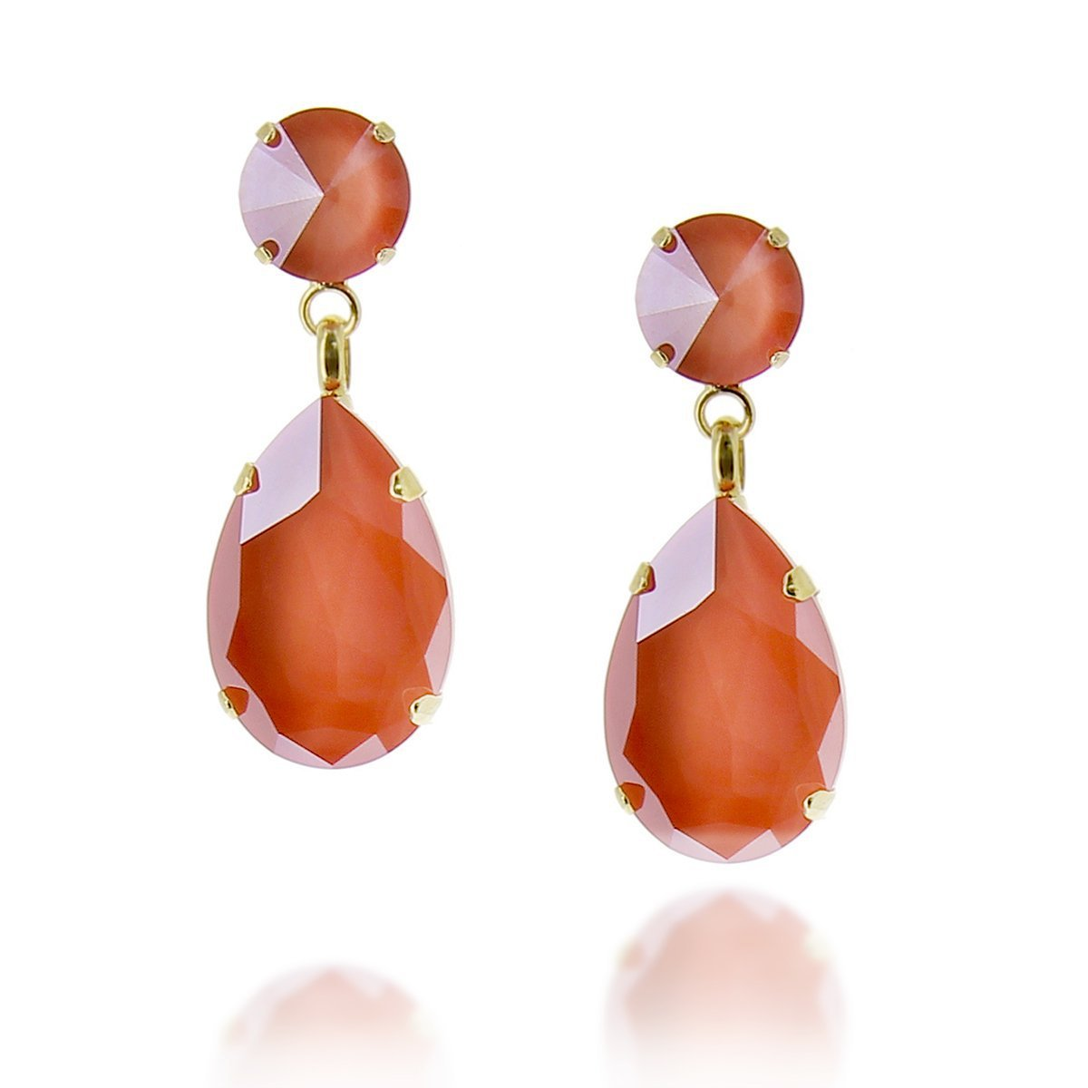 Angelina Earring Light Coral