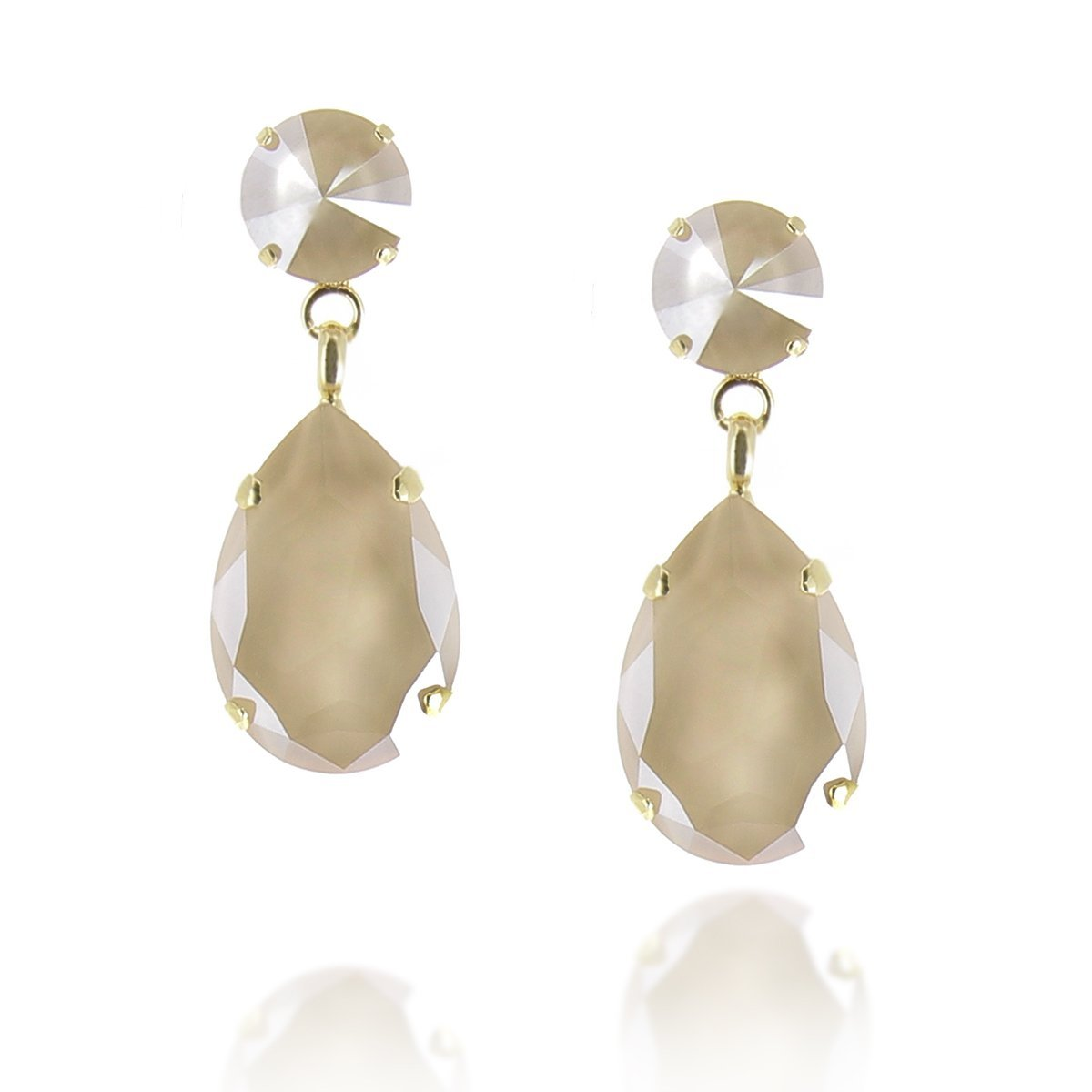 Angelina Earring Ivory Cream