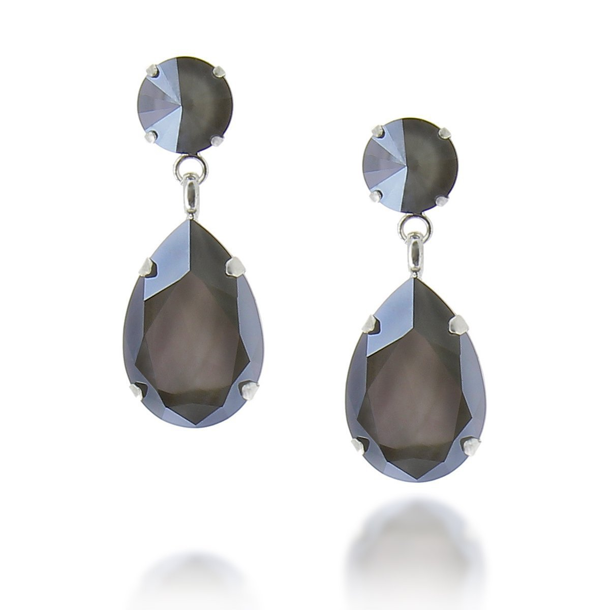 Angelina Earring Dark Grey