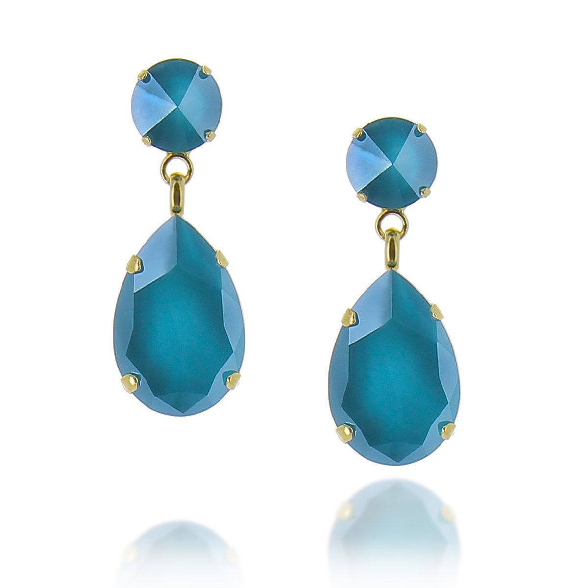 Angelina Earring Azure Blue