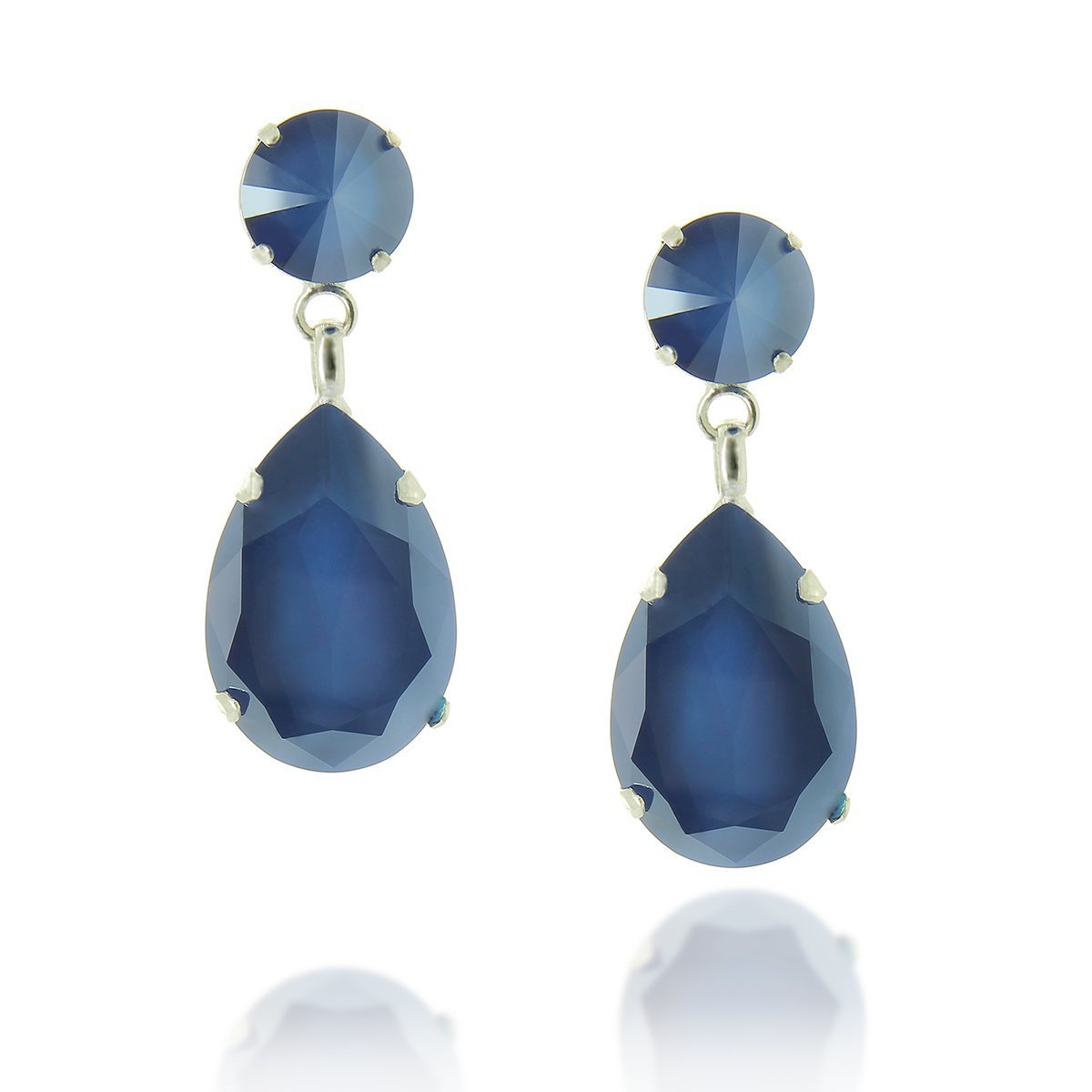 Angelina Earring Royal Blue
