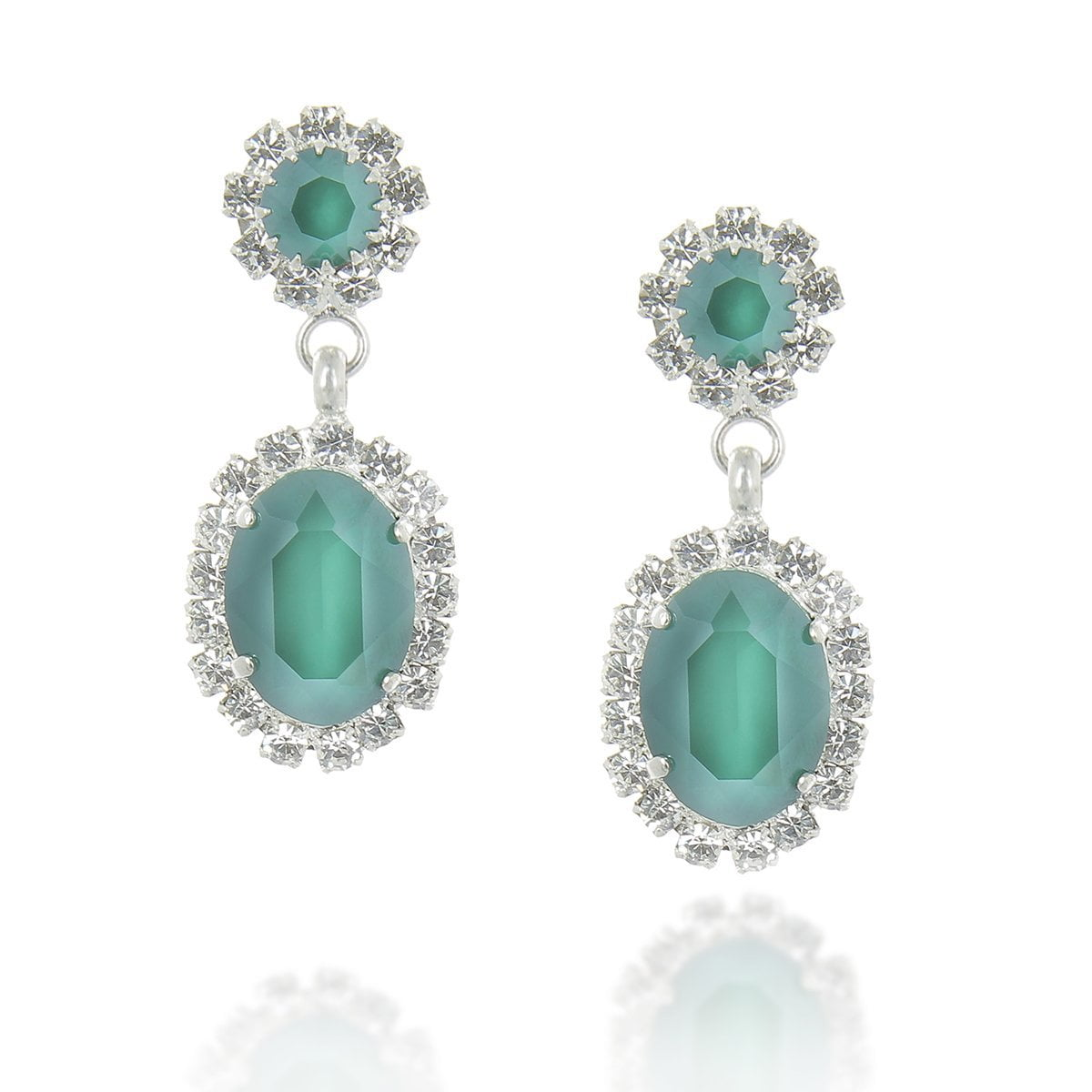 Zena Royal Green Earrings