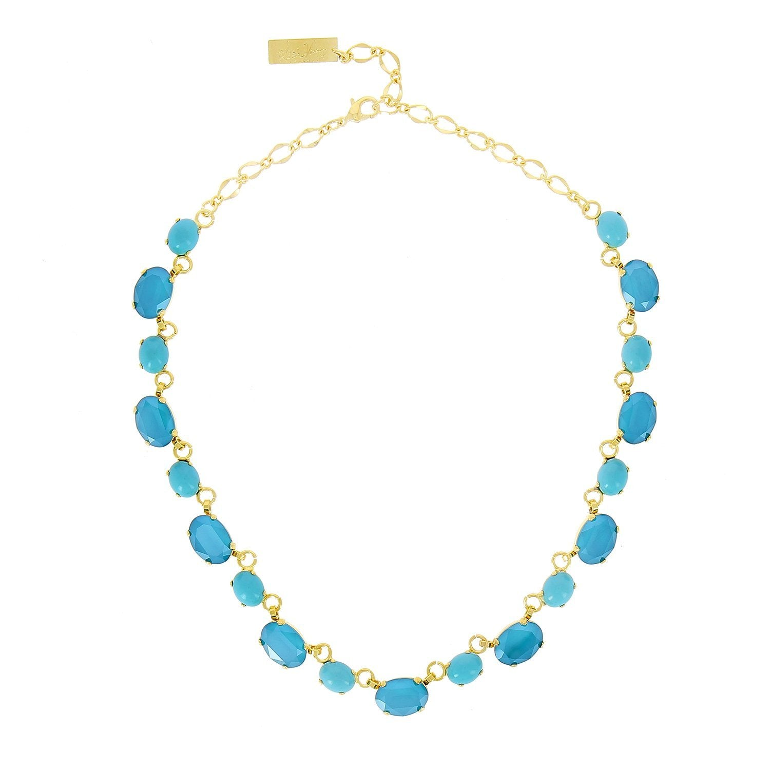 Ari Turquoise and Blue Necklace