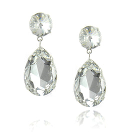 Angelina Earring Crystal Clear