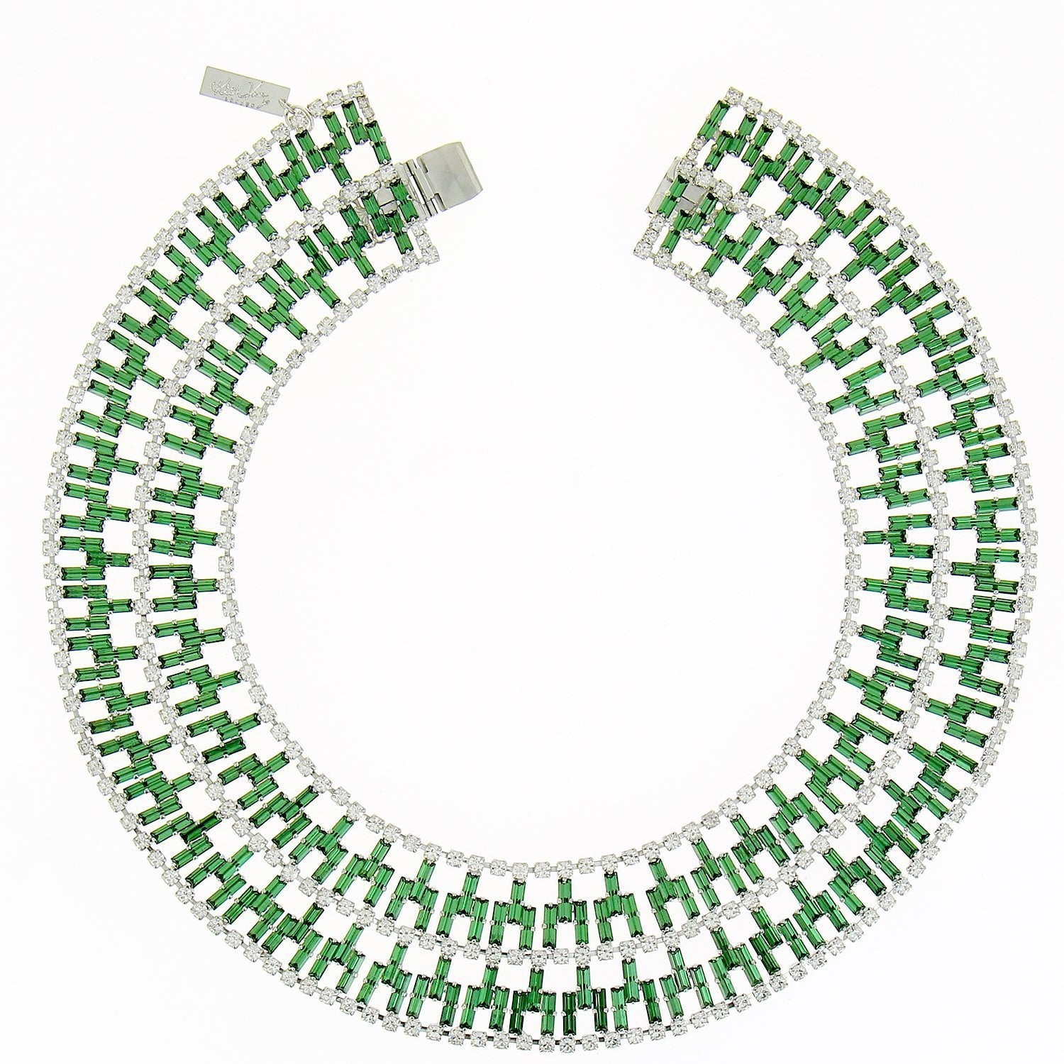 Nefertiti Emerald Necklace