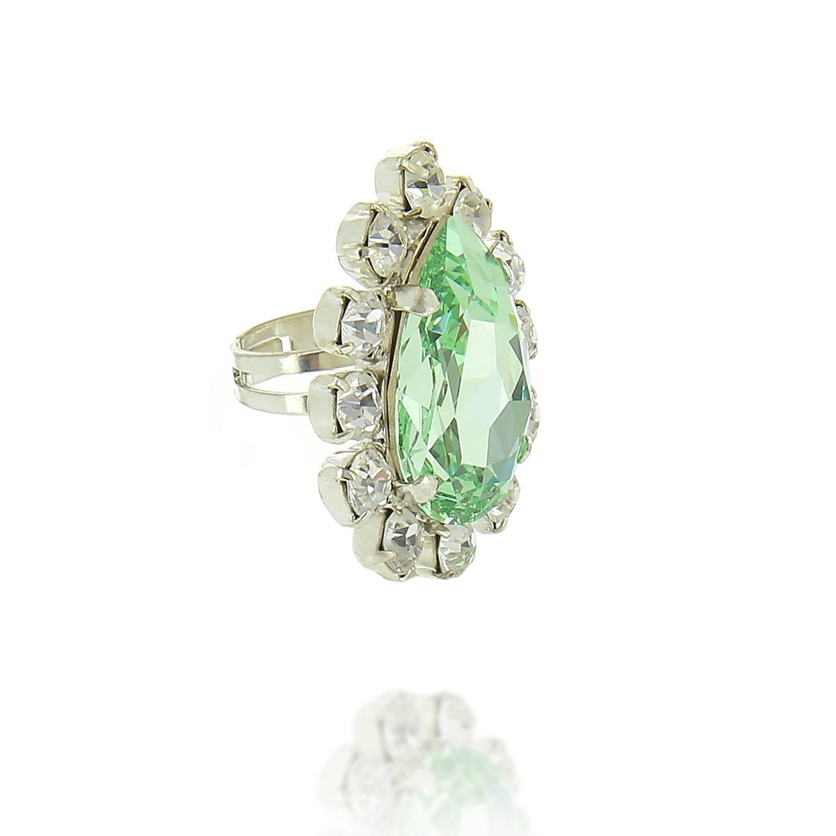 Adriana Lime Ring