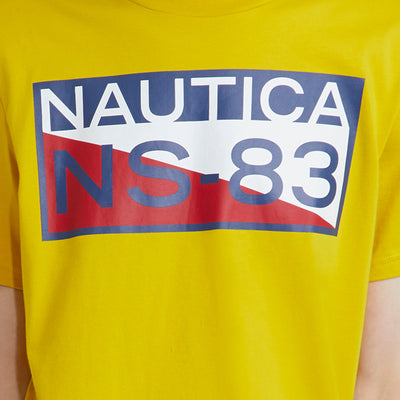 bbc0279475e6 The Lil Yachty Collection by Nautica NS83 Graphic T-Shirt Sulphur Yellow