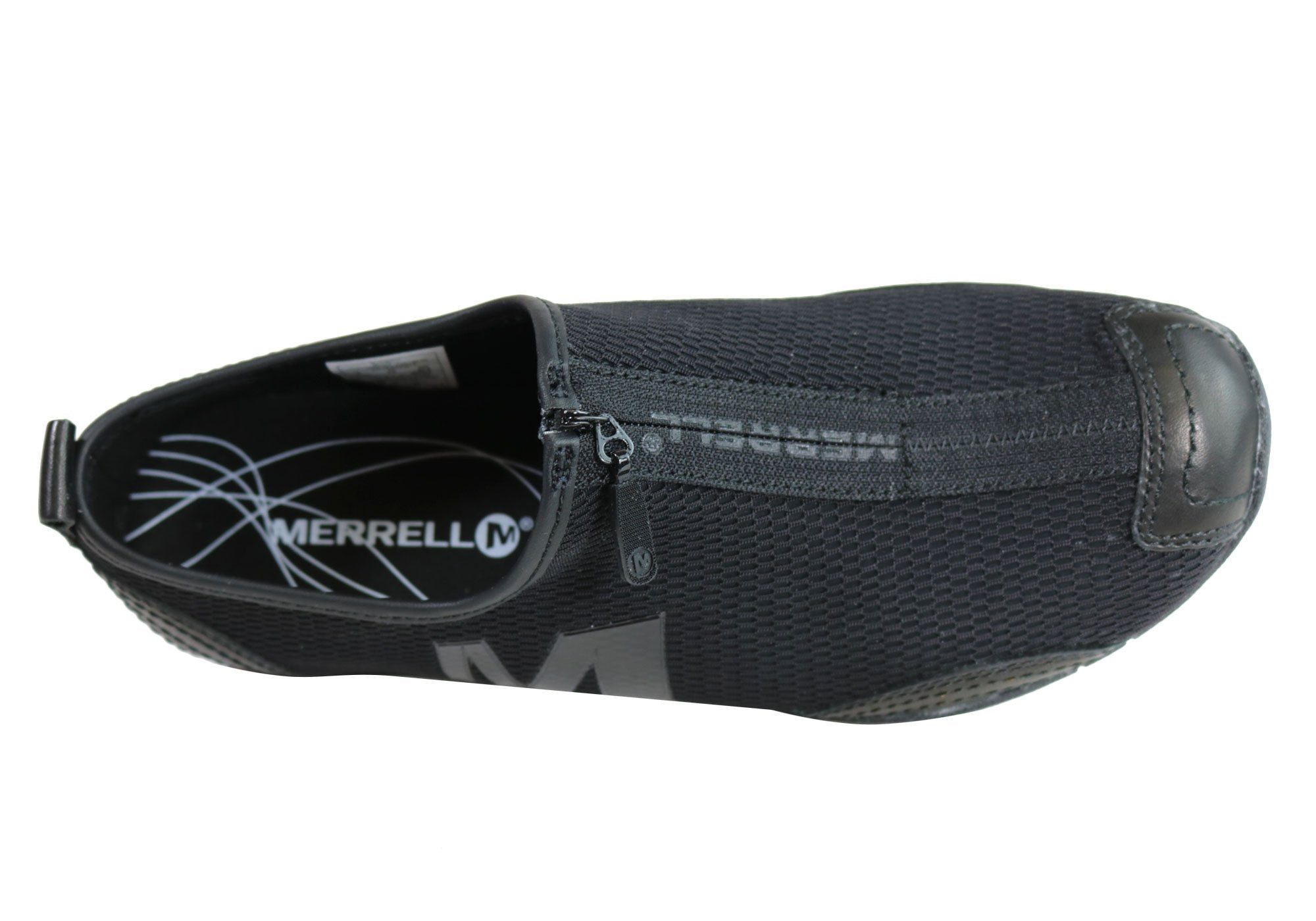 1c69953d Merrell Barrado Womens Comfortable Flat Casual Zip Shoes