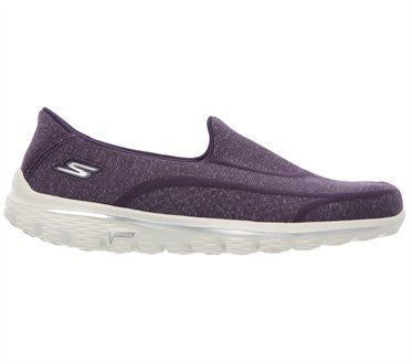 Skechers Womens Go Walk 2 Super Sock 2 Purple