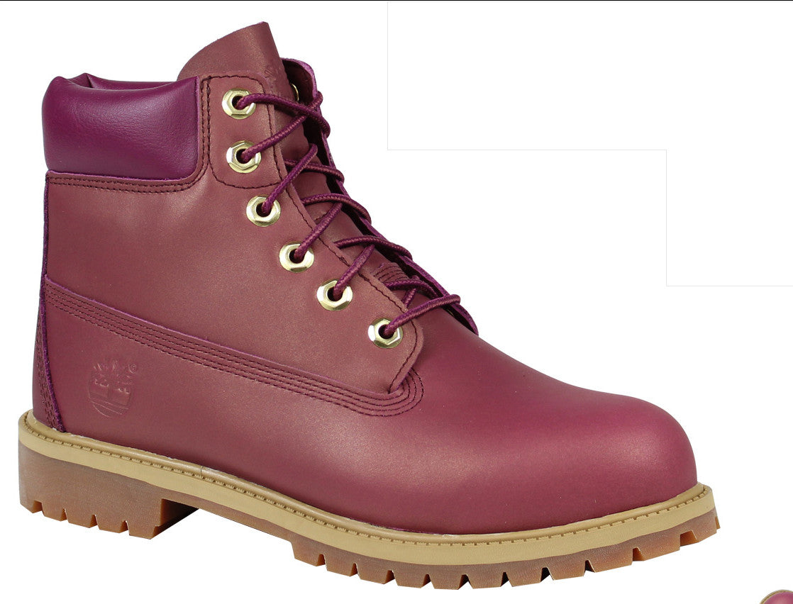 2a5474b15d1b Timberland Youth Boots Dark Pink Purple Kids Junior A19QZ - Top brand shoes