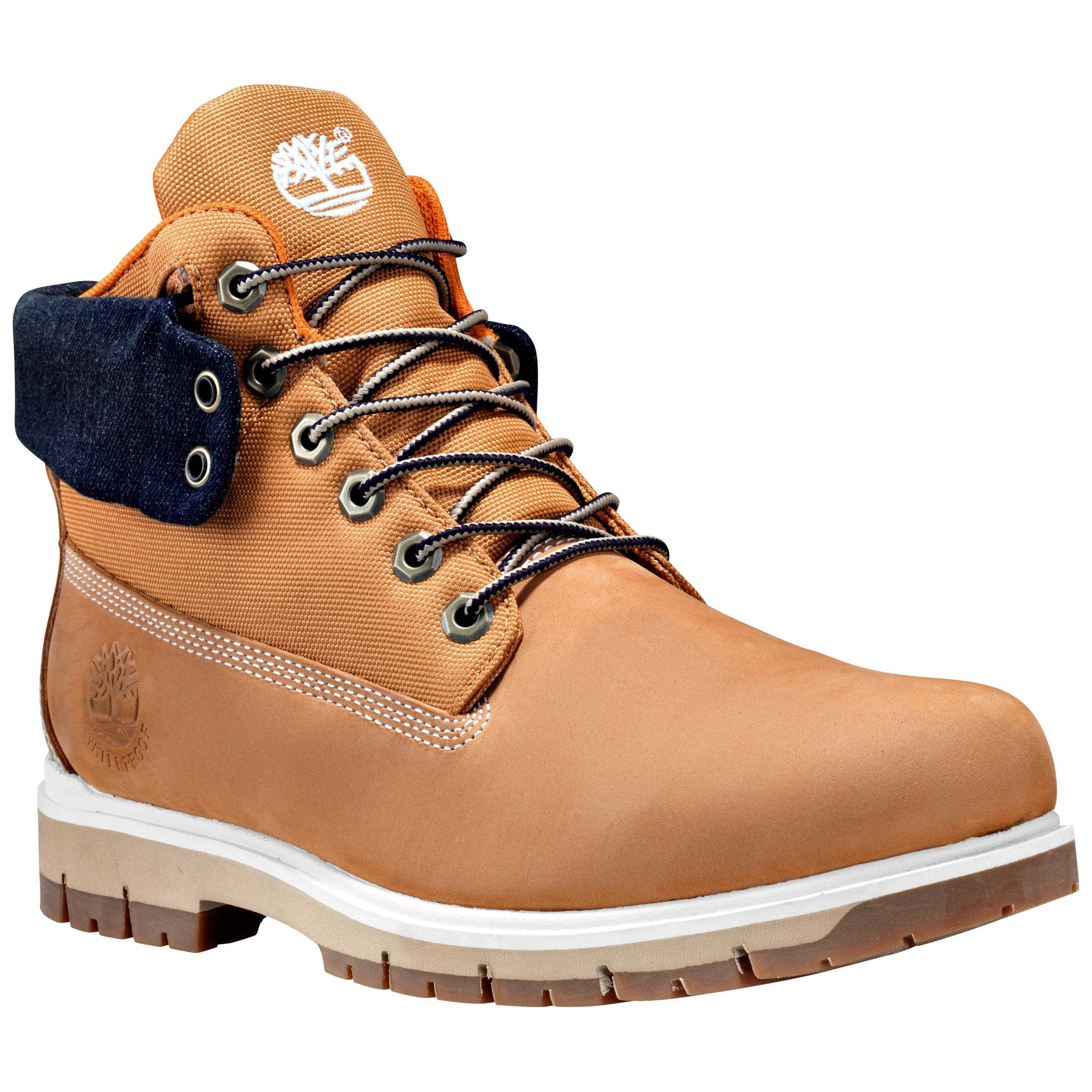 Timberland mens roll top bottom line boot