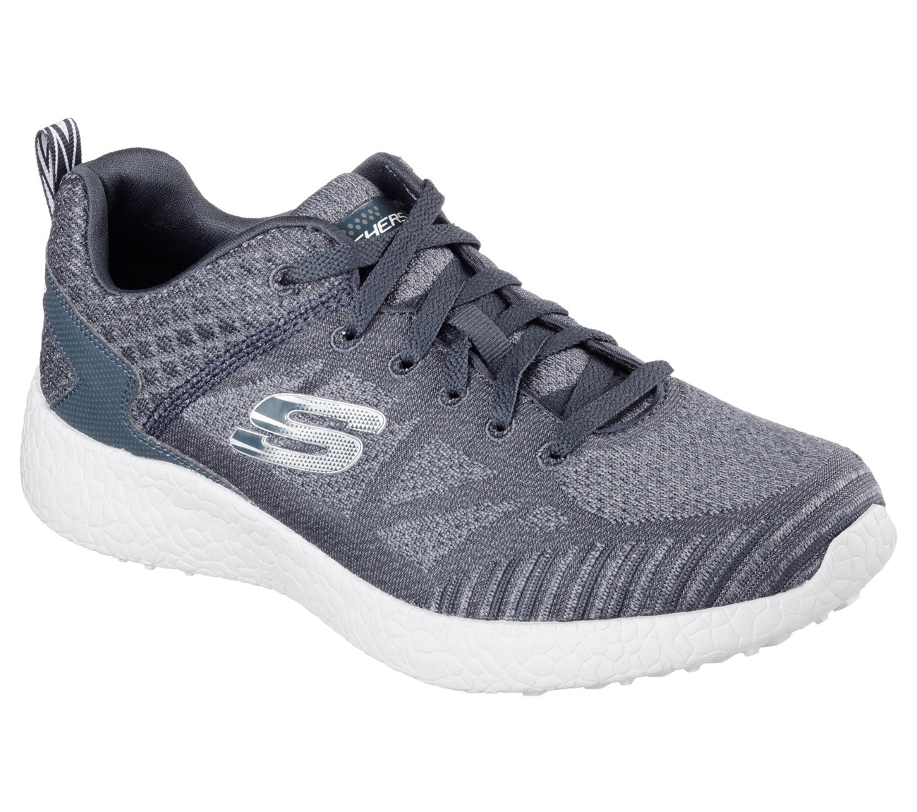 white skechers with memory foam