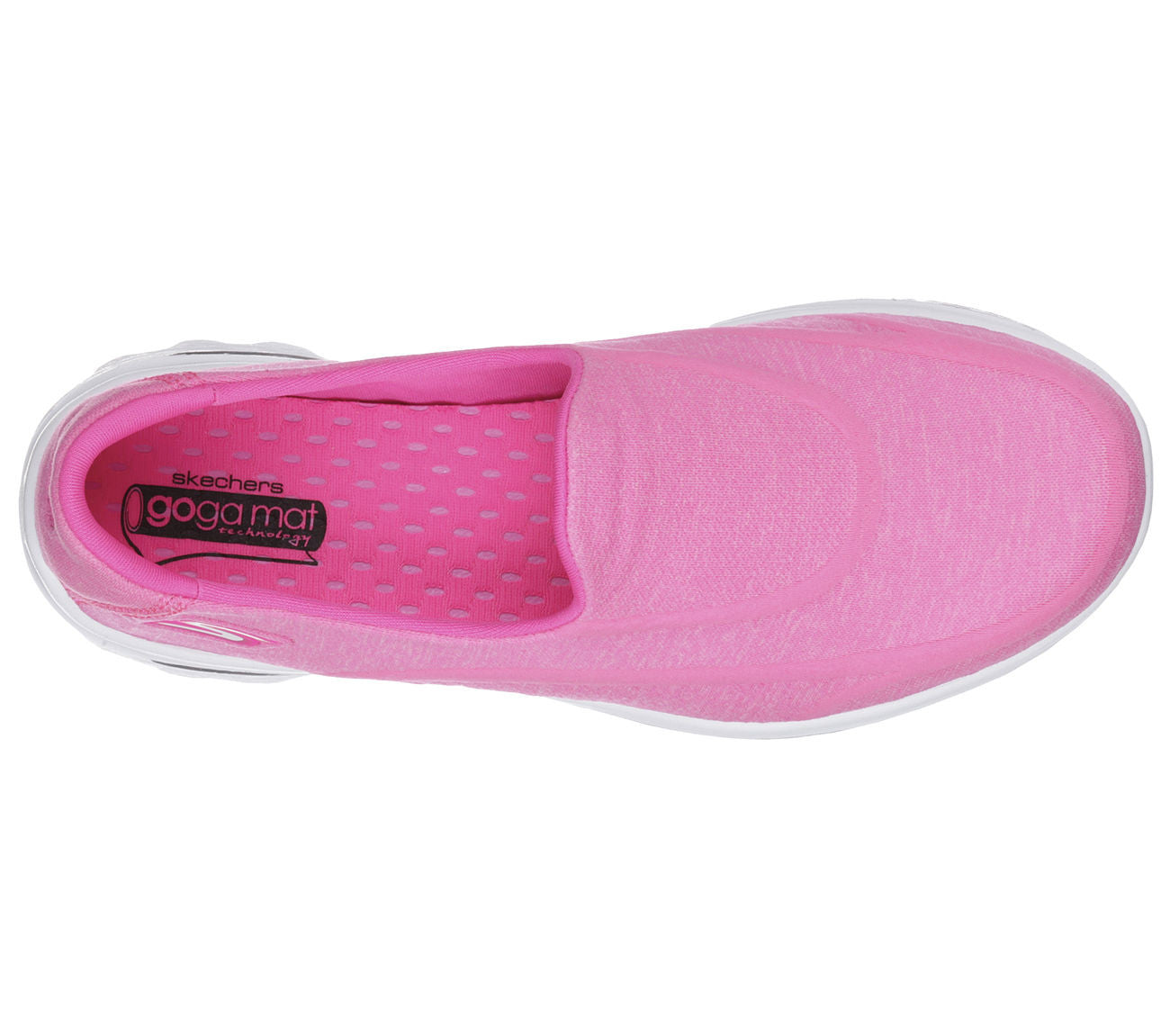 Skechers Womens Go Walk 2 Super Sock 2 hot pink