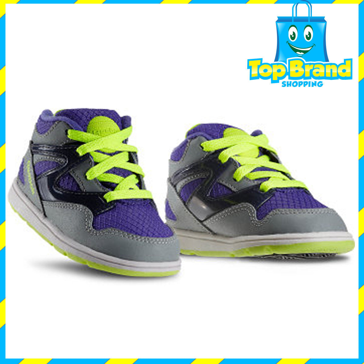 0b416879bf20 INFANT SHOES Toddler s Reebok Versa Pump Omni Lite SIZE 2 US   17 EUR - Top  brand shoes