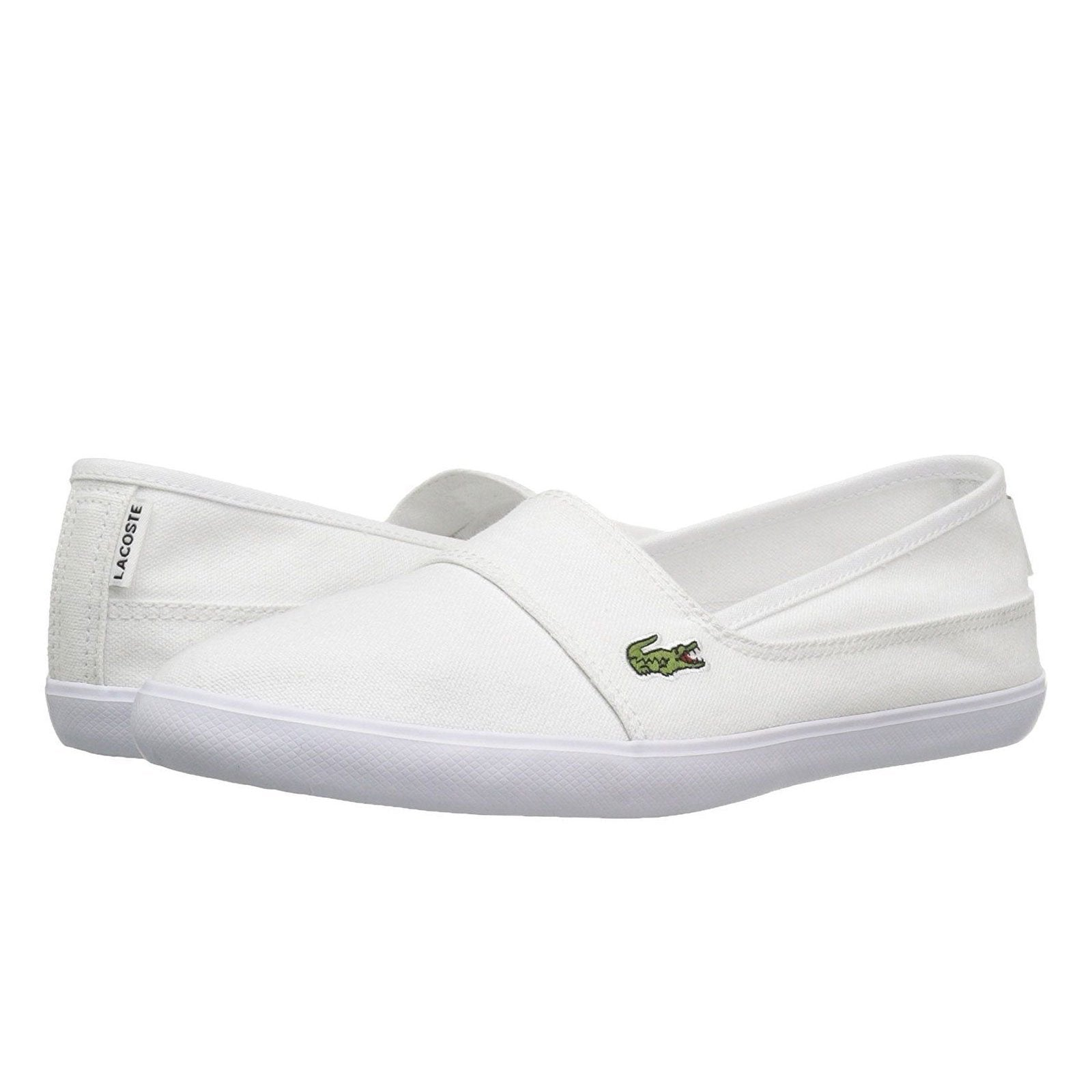 4908989d8 Lacoste Marice Bl 2 Womens Slip On in White Casual Sneakers - Top brand  shoes