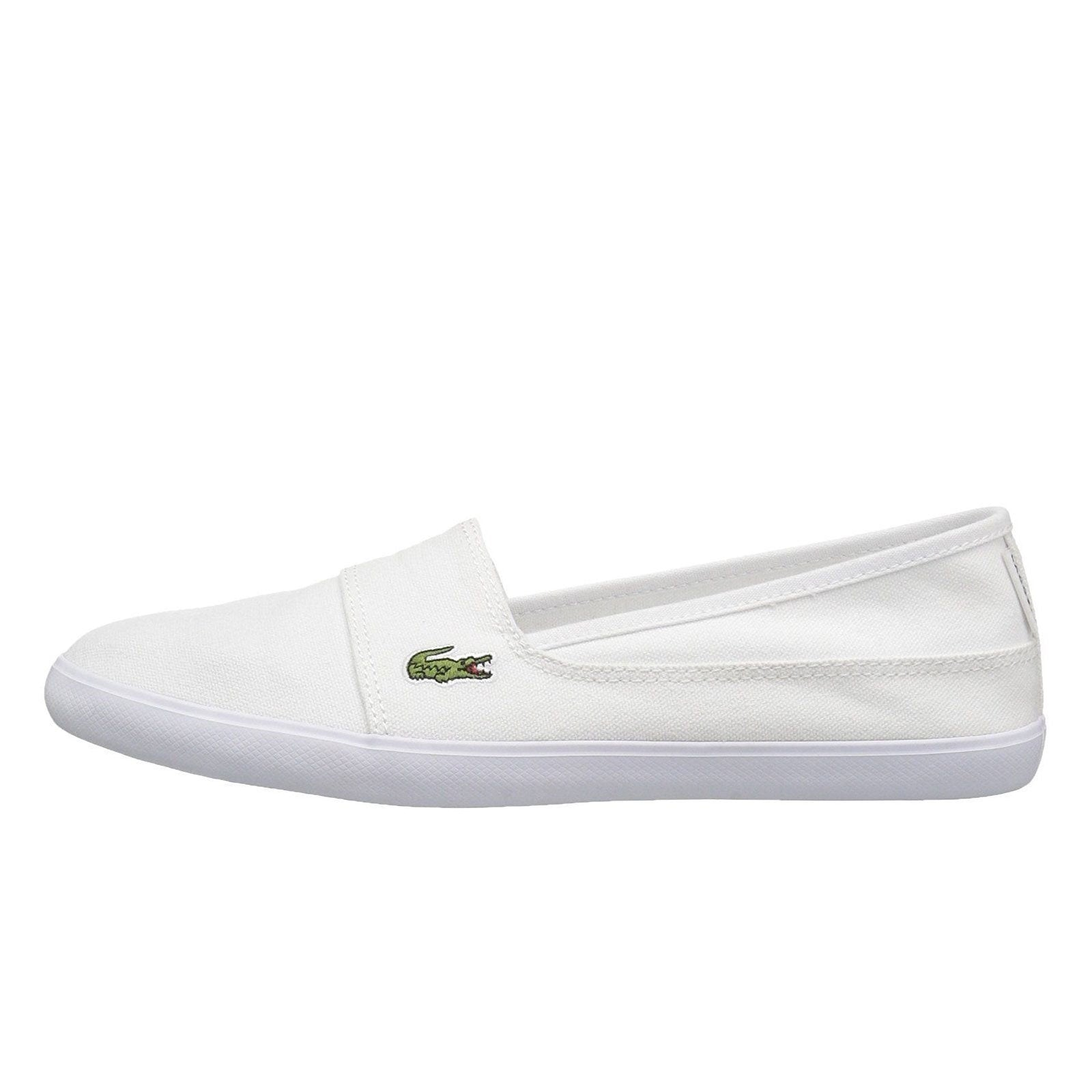 788a5a68c14a Lacoste Marice Bl 2 Womens Slip On in White Casual Sneakers - Top ...