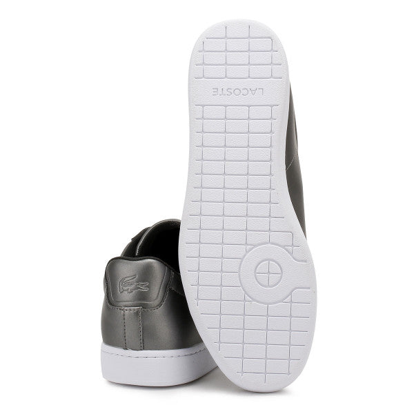 Lacoste Womens Lacoste Womens Dark Grey Carnaby EVO 317 4 Trainers Casual SHOES
