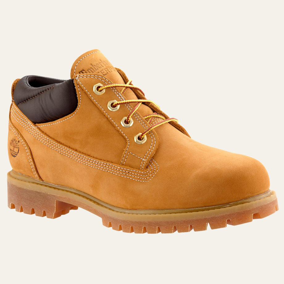 3759338c6524 Timberland Mens Classic Oxford Waterproof Boots Wheat Nubuck - Top brand  shoes